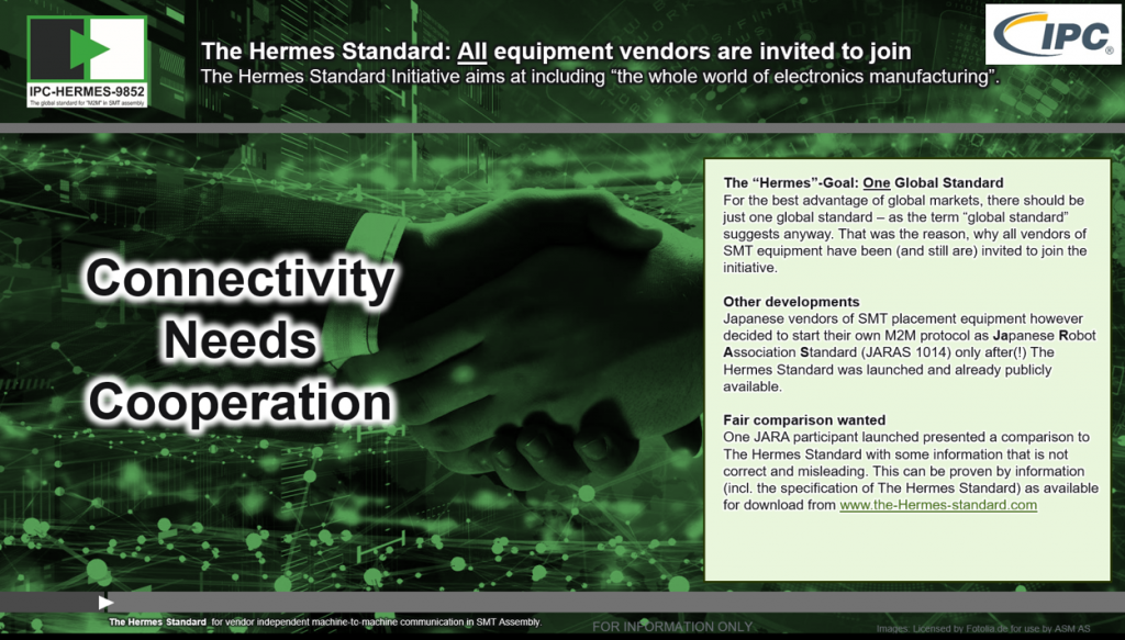 Comparing The Hermes Standard IPC-HERMES-9852 to other